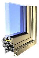 Alitherm55 Window Section Detail